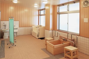 風林荘新館浴室